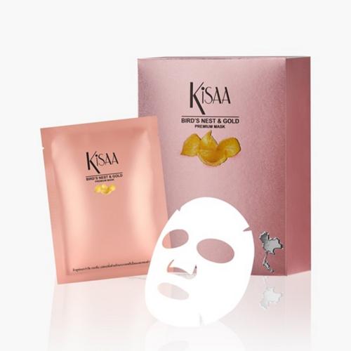 KISAA洁莎燕窝24K金箔润颜面膜 净含量 35g x 10片