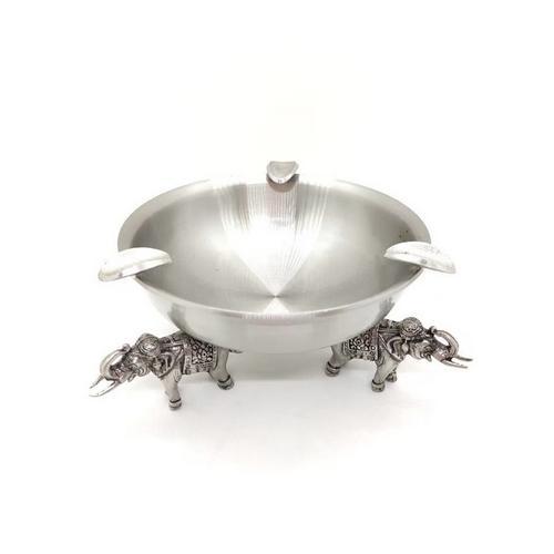 【直邮】BANGKOK PEWTER泰锡制艺术造型烟灰缸