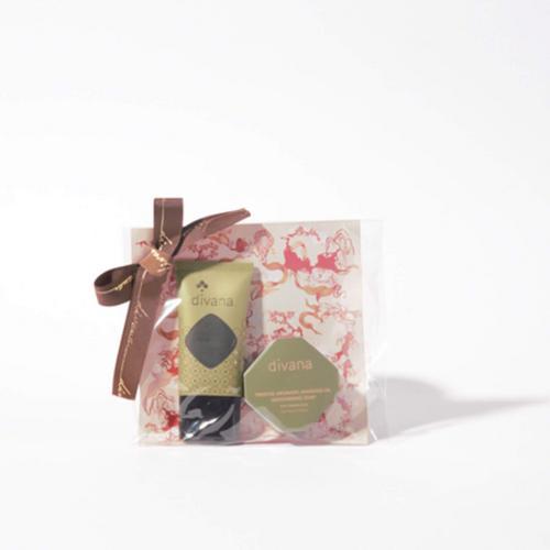 DIVANA南姜橄榄油护理套装30g*2(护手霜,精油皂)