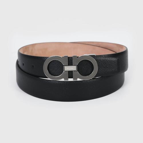 【国际品牌】SALVATORE FERRAGAMO 菲拉格慕经典皮带头皮带105cm