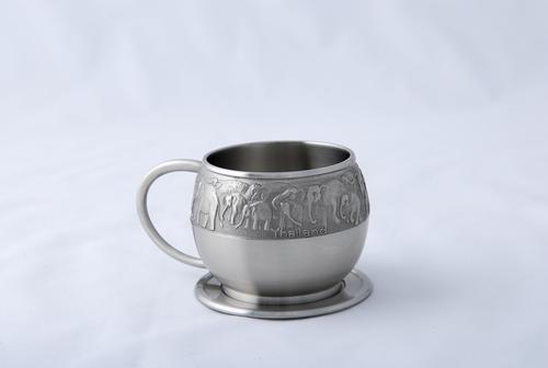 【直邮】BANGKOK PEWTER泰锡制茶杯