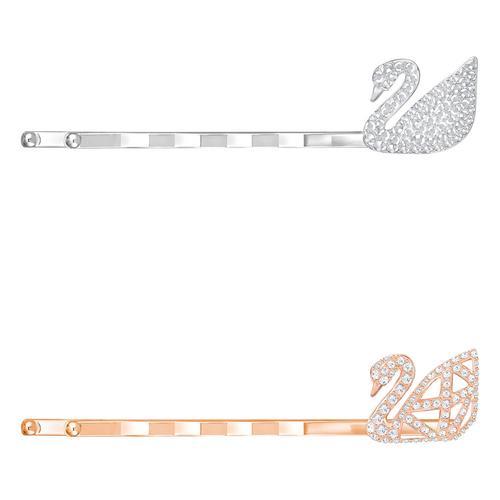 SWAROVSKI施华洛世奇天鹅标志水晶发簪套装1.5*1cm