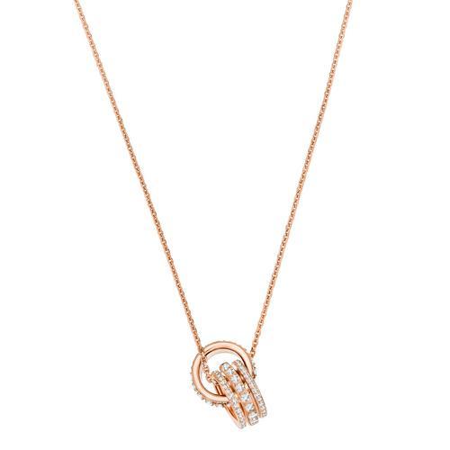 【国际品牌】SWAROVSKI施华洛世奇未来玫瑰金吊坠项链42cm