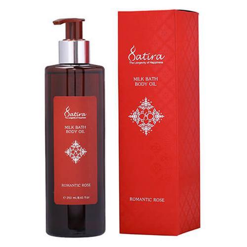 【直邮】SATIRA泰国玫瑰复方沐浴按摩精油250ml