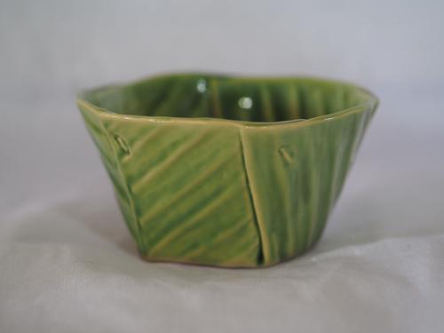CHARTEE NOISOPA泰式陶瓷叶片竖起造型树叶杯 OTOP