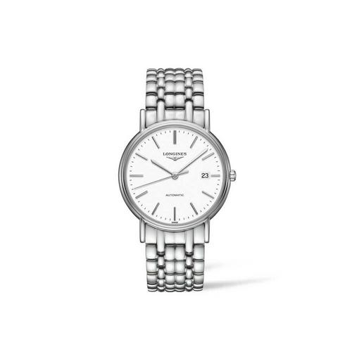 【国际品牌】Longines浪琴瑰丽系列手表机械罗马白盘条钉手表 34.50 mm L4.821.4.12.6