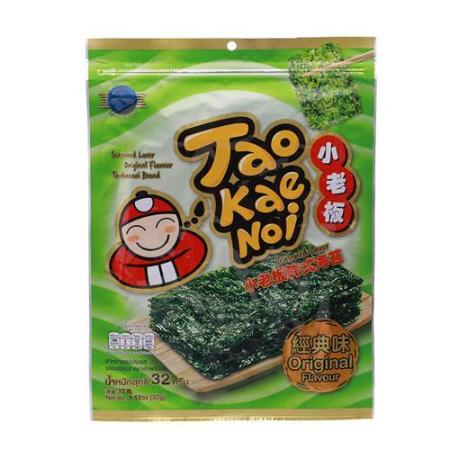 【直邮】TaoKaeNoi小老板原味海苔卷32g