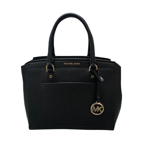 【国际品牌】迈克·科尔斯 MICHAEL KORS女士黑色手提包