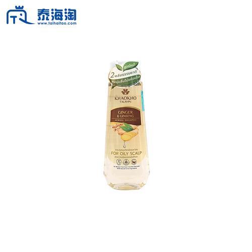 KHAOKHO TALAYPU南姜高丽参滋养修护强健洗发水洗发露330ml
