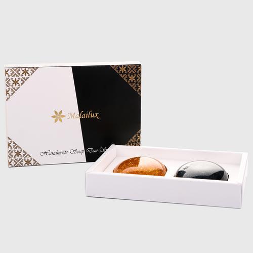 【直邮】Malailux精华皂两件套组(100g*2蜗牛竹炭)