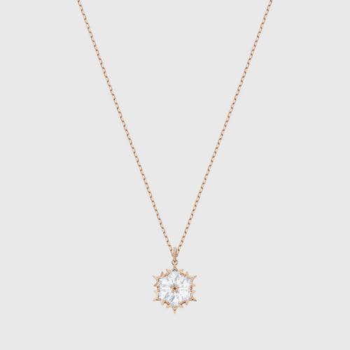【国际品牌】SWAROVSKI施华洛世奇魔术镀玫瑰金吊坠项链38cm
