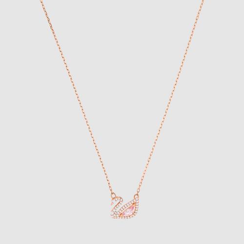 【国际品牌】SWAROVSKI施华洛世奇标志水晶耀眼天鹅项链吊坠