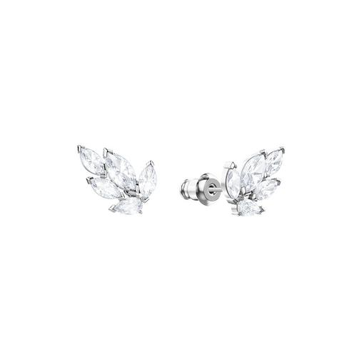 【国际品牌】SWAROVSKI施华洛世奇路易森镀铑水晶耳环1cm