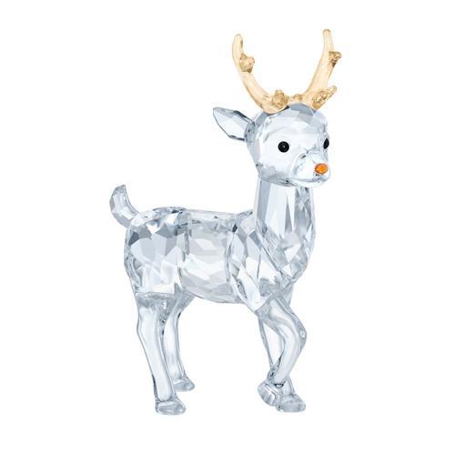 SWAROVSKI施华洛世奇水晶圣诞鹿摆饰6.3 x 4.3 x 2.2 cm