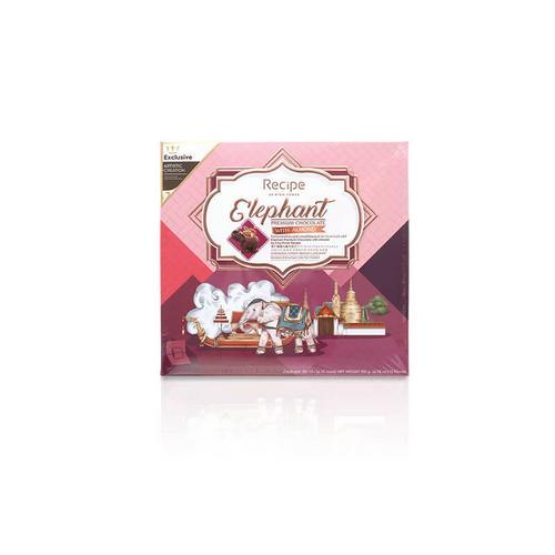 【直邮】KingPower制杏仁牛奶大象巧克力180g