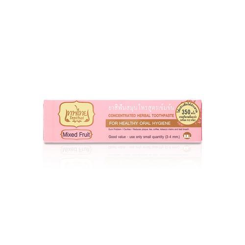 【直邮】Tepthai泰国传统浓缩草药牙膏混合水果香70g