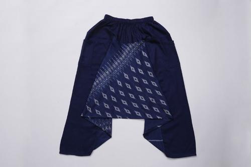 PHAYDOKPLUI深蓝传统泰式长裤 OTOP