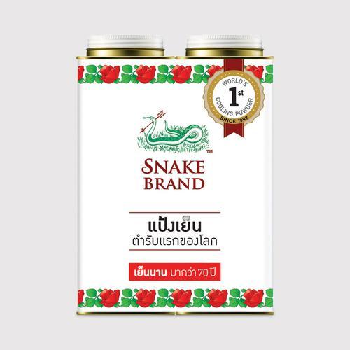 SNAKE BRAND泰国蛇牌经典爽身粉套装300g*2